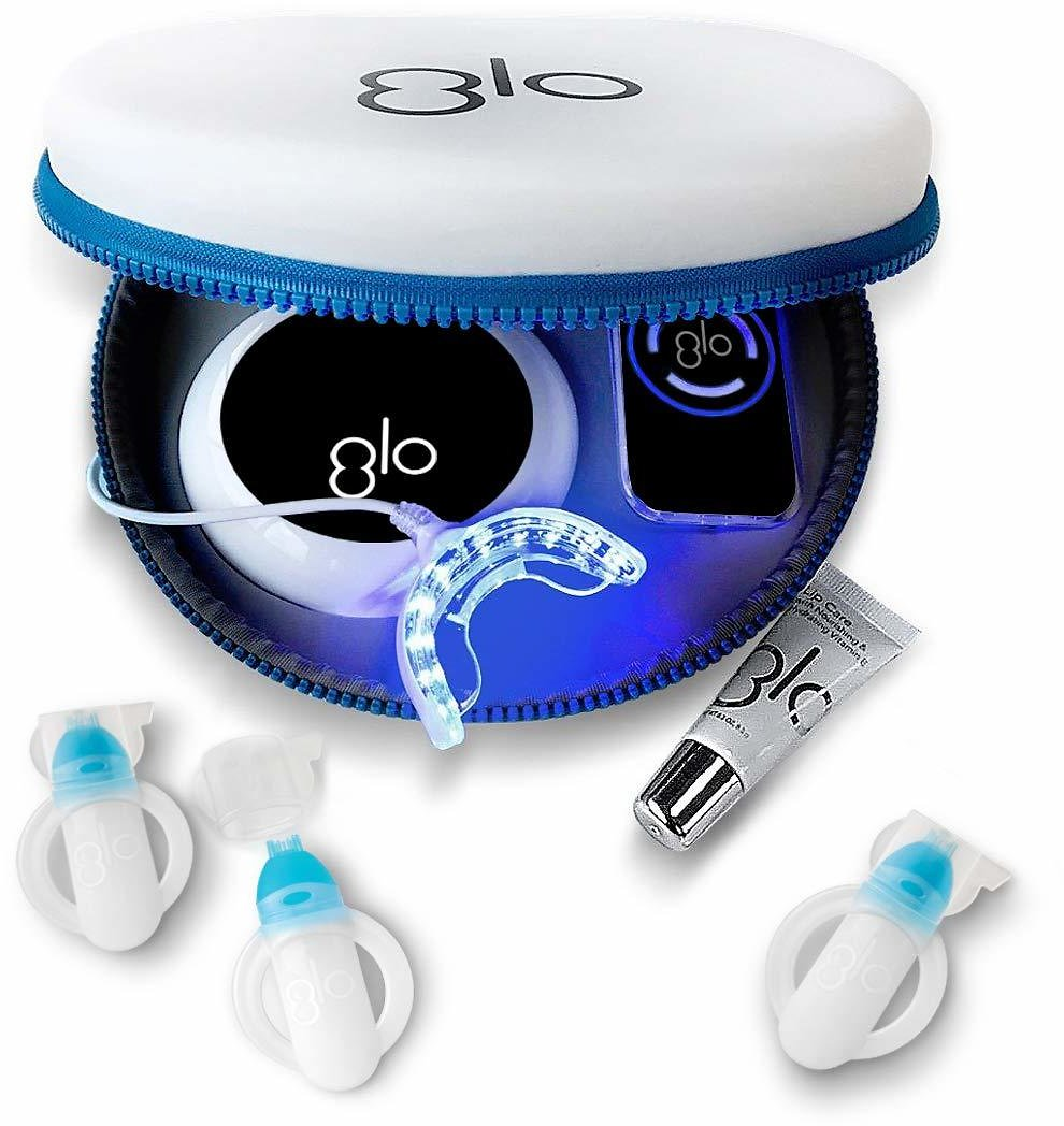 20% OFF On GLO Brilliant Deluxe Teeth Whitening Device Kit Black