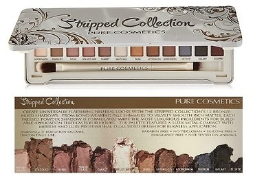 Pure Cosmetics Stripped Collection Eyeshadow Palette (12 Colors)