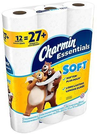 12-Pack Charmin Toilet Paper + More!