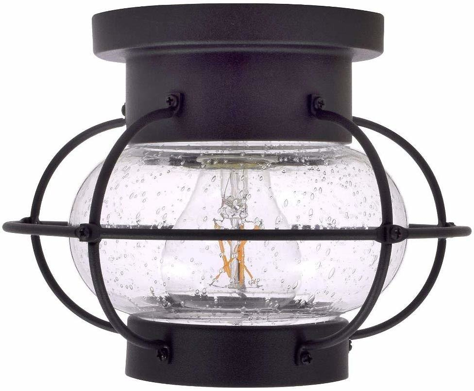 SYLVANIA General Lighting Sylvania Essex Cage Light, LED, Semi-Flush Mount, Dimmable Bulb Included