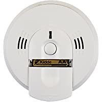 Kidde Battery Operated Smoke and Carbon Monoxide Detector Alarm (White)