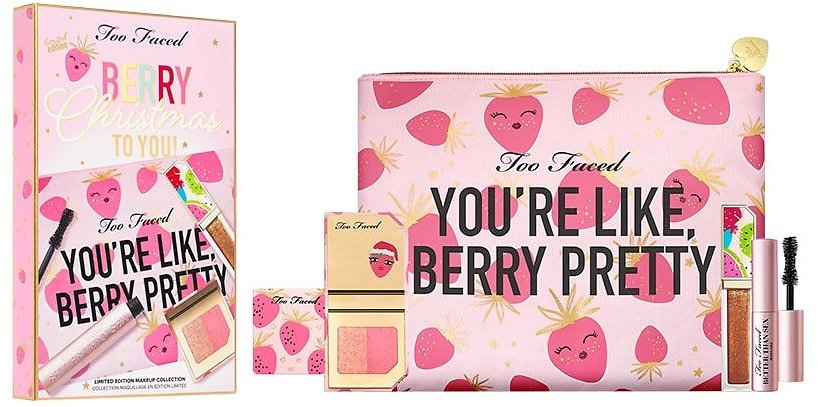($67 value) Too Faced Berry Christmas To You