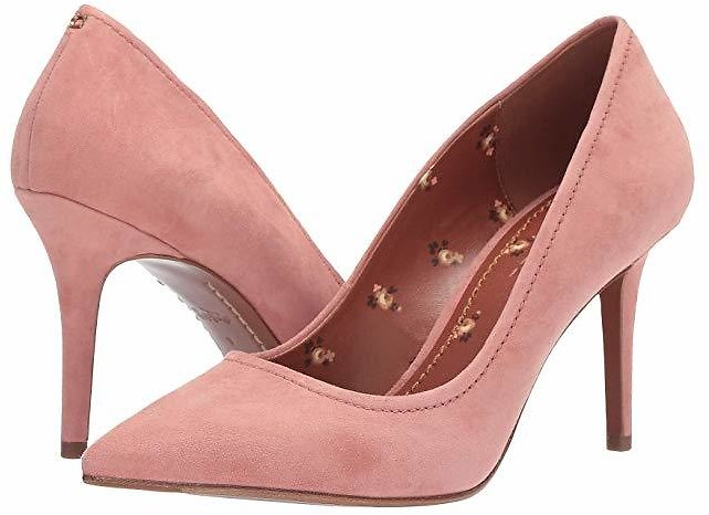 Coach 85 Mm Waverly Pump - Suede