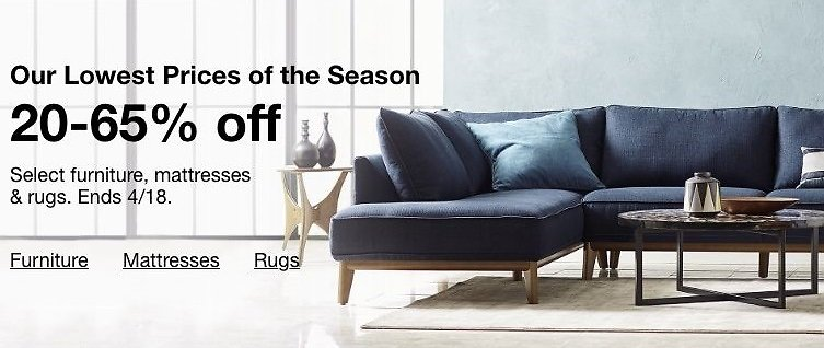 20- 65% Off Select Furniture, Mattresses & Rugs - Macy's