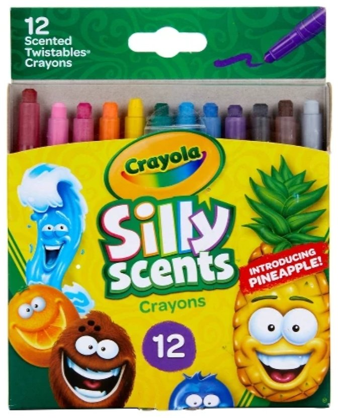 Crayola 12ct Silly Scents Twistable Crayons