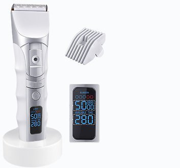 Electric Hair Trimmer Clipper Grooming Kit Cordless/Cord Quiet Hair Shaver Cutter For Men