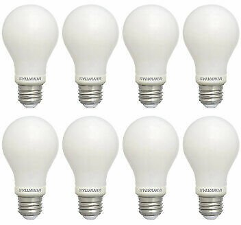 Sylvania 60W Equivalent Soft White Dimmable Daylight LED Light Bulb (8 Bulbs)