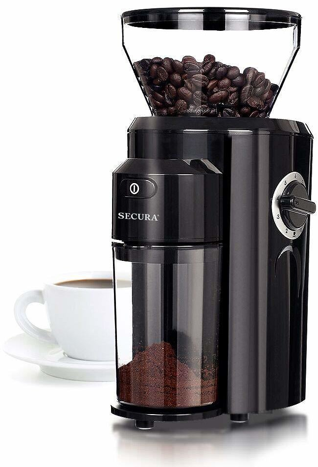 Secura Automatic Electric Conical Burr Coffee Grinder