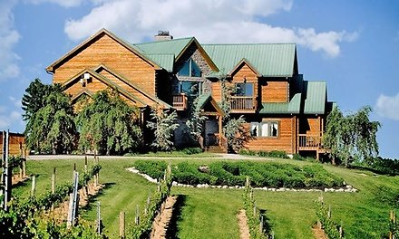 1- or 2-Night Stay for 2 w/ Tour or 1-Night Stay for 6 w/ Girls Night Package At Elk Creek Vineyards in Owenton, KY