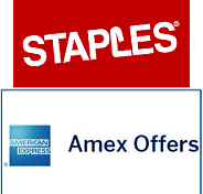 $25 Back with $100 Purchase At Staples (YMMV) - AMEX