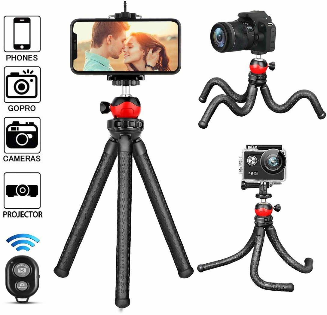 Black Friday Deals  Phone Tripod,Portable Adjustable Cell Phone Gopro Stand Holder
