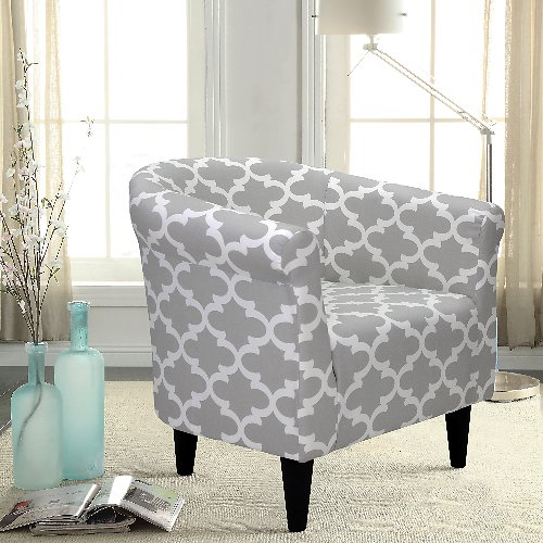 Mainstays Microfiber Bucket Accent Chair (Mult. Colors) + F/S