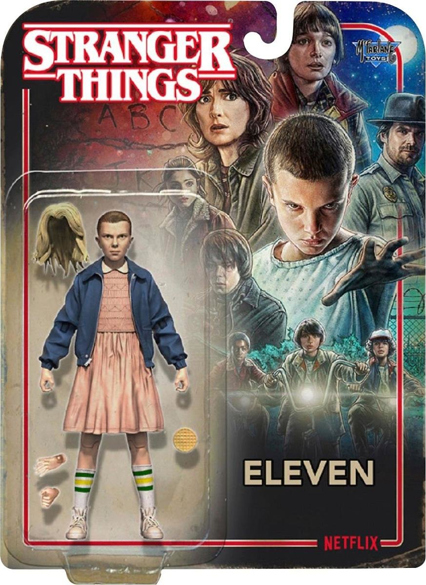 McFarlane Toys Stranger Things Characters – Styles May Vary White/blue/pink/tan 99430