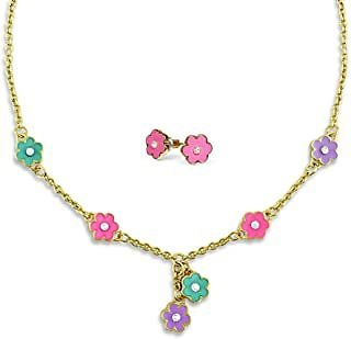 Flower Necklace For Women And Teens