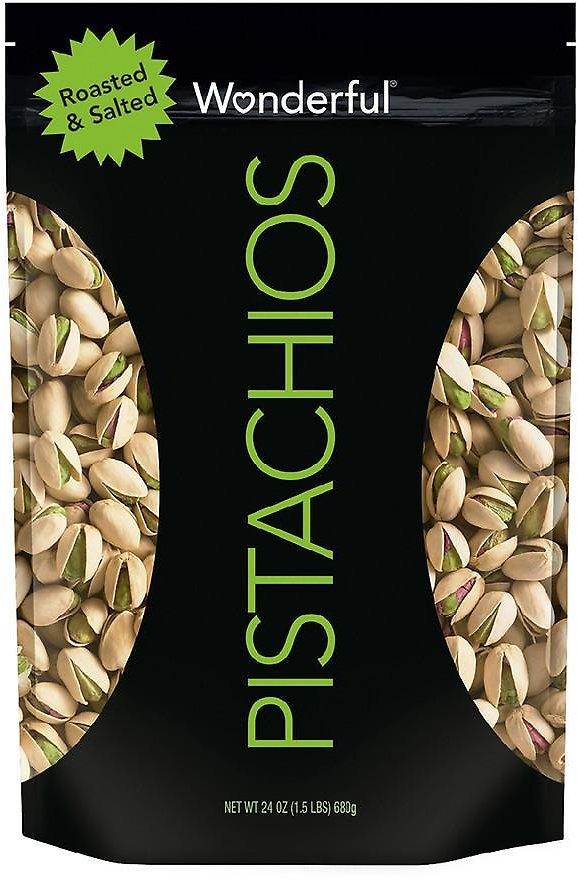 Wonderful In Shell Pistachios Roasted & Salted24.0oz