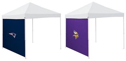Logo Brands NFL 9'x9' Weather Protection Tent Side Panels (Tent Not Included)