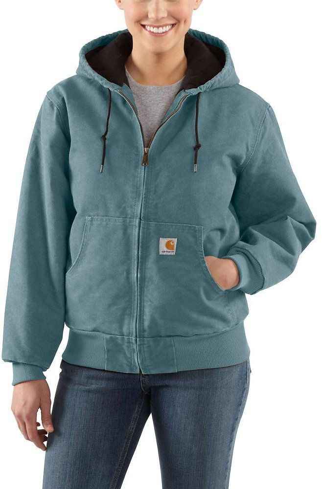 Women's Small Sea Glass Cotton Active Jacket + F/S