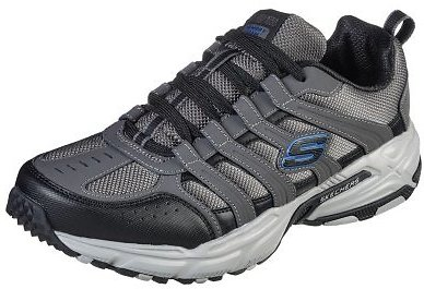 Skechers Men Outdoor Active Shoe (Charcoal)