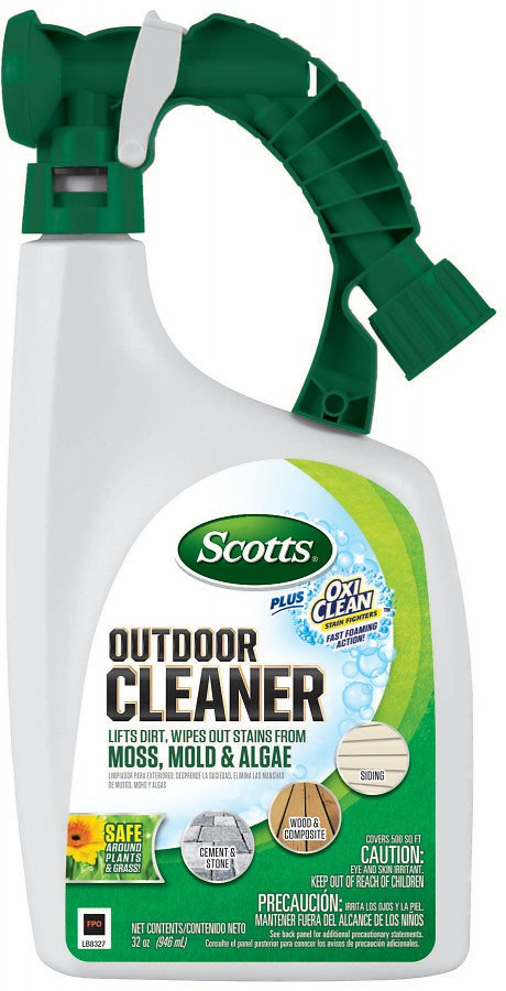Scotts Outdoor Cleaner Plus OxiClean Ready-To-Spray