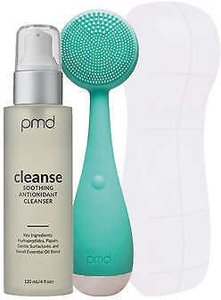 PMD Clean Facial Cleansing Device with Travel Case and Cleanser, 4.0 Fl Oz