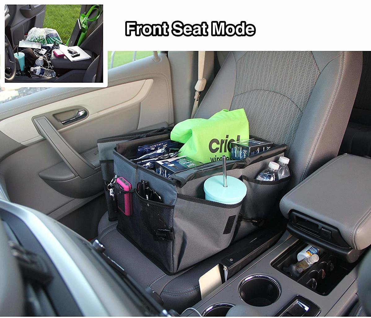 Drive Auto Products Car Cargo Trunk Organizer, Folding Compartments Are Easily Expandable To Suit Any In-vehicle Organization Ne