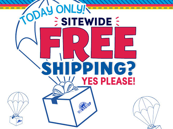 Today Only! Free Shipping Sitewide - Build-A-Bear®