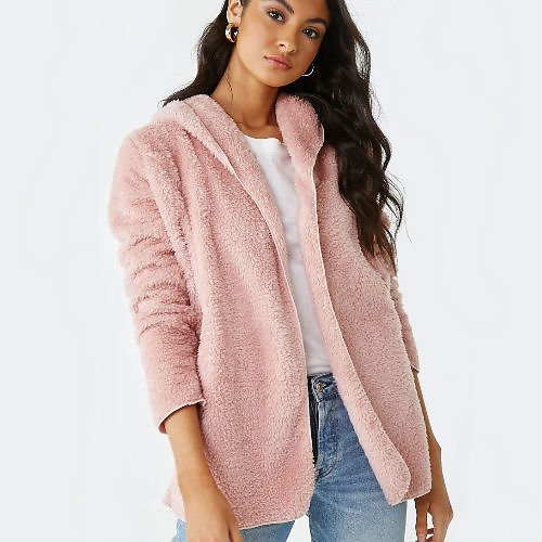 Forever 21 Faux Fur Jacket (4 Colors)