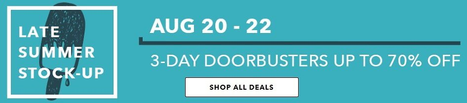 Up to 70% Off 3 Day Doorbusters | JOANN