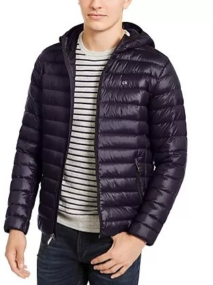 Men's Hooded Puffer Jacket (Mult. Colors)