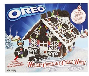 Oreo Holiday Chocolate Cookie House Kit (In Store)