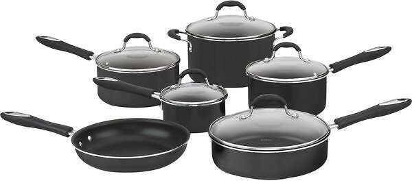 Cuisinart Advantage NonStick 11 Piece Aluminum Cookware Set