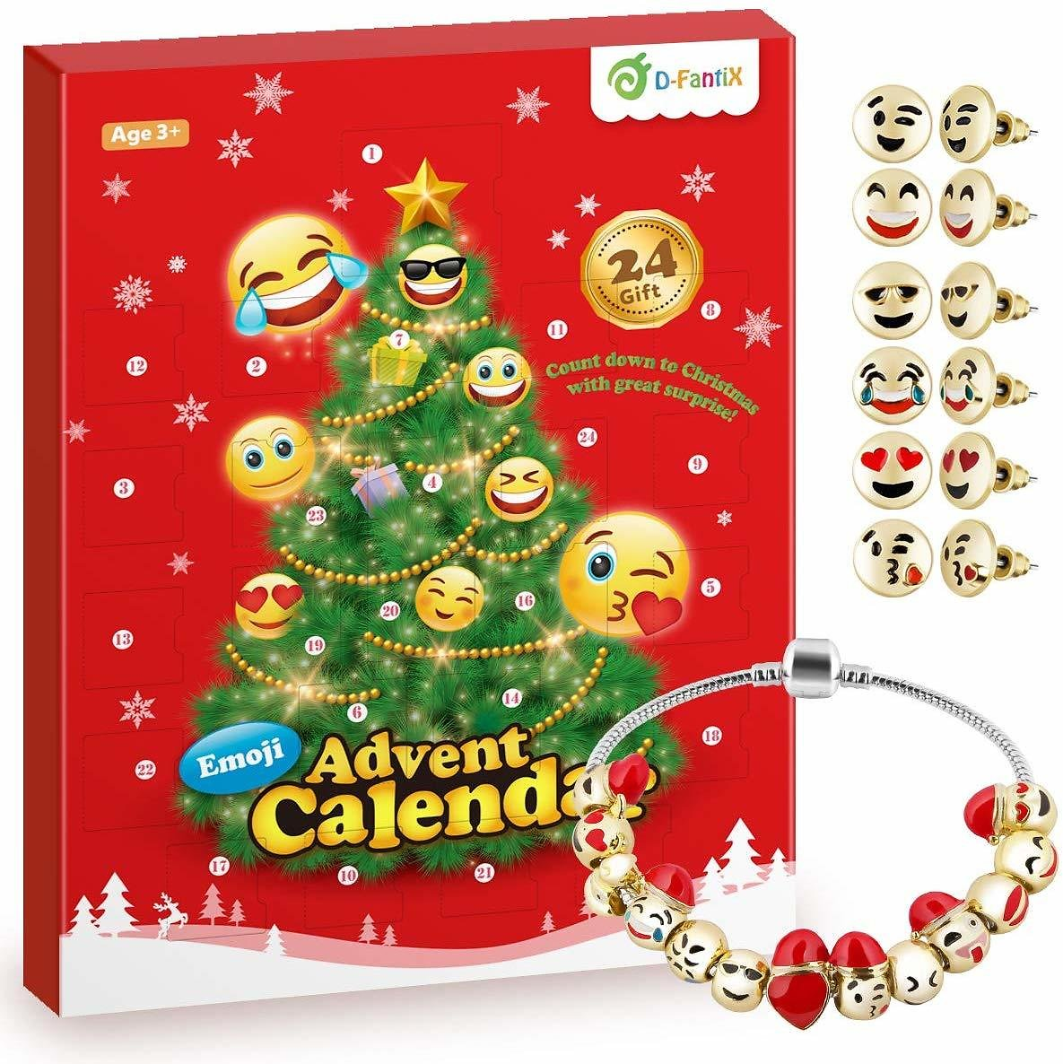 Save 20% On Girls Emoji Jewelry Advent Calendar 2019