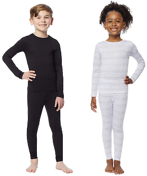 32 Degrees Kids' Base Layer Set (2 Colors)