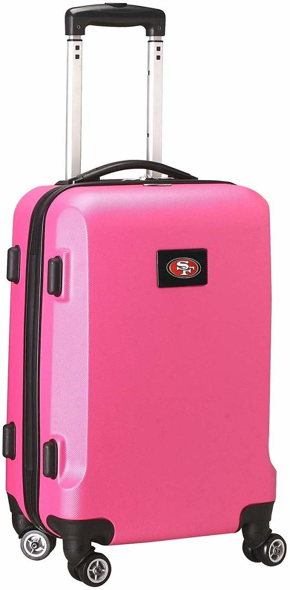 Denco NFL San Francisco 49ers Carry-On Hardcase Luggage Spinner