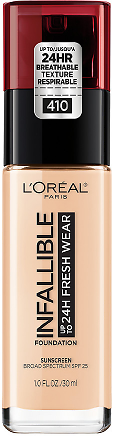 Buy 1, Get 1 50% OFF L'Oreal Paris Infallible 24 Hour Fresh Wear Foundation, Ivory