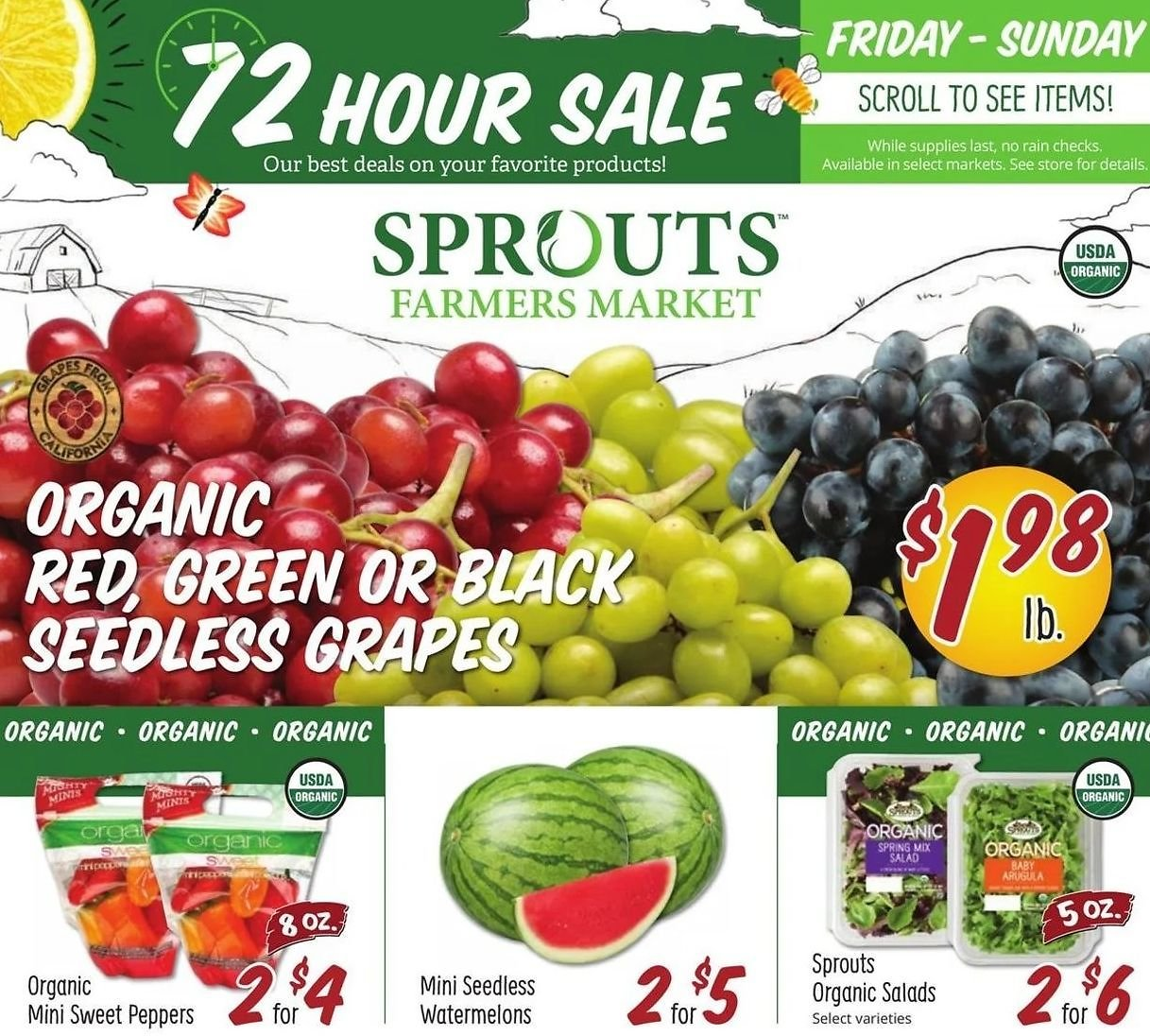 Sprouts Farmers Market Weekly Ad