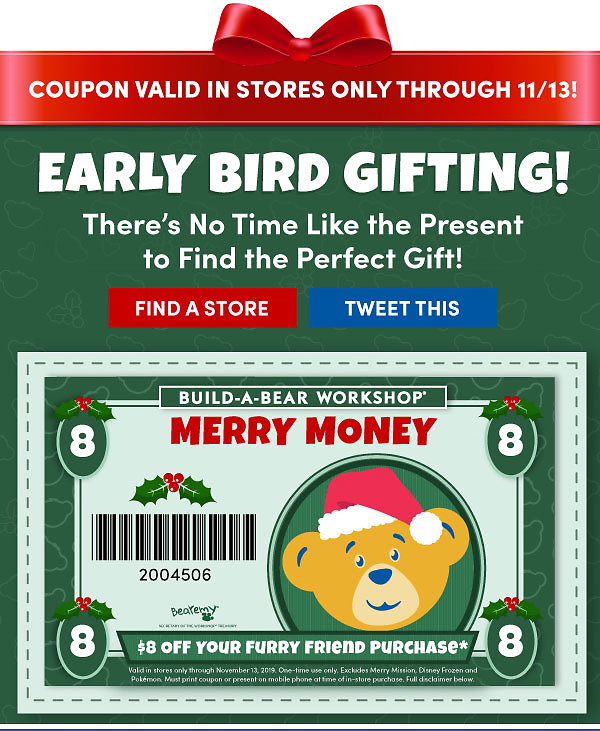 Check Your Inbox: $8 OFF! Your Merry Money Is Inside