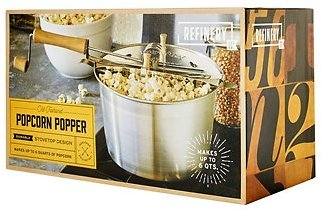 Refinery and Co. Old-Fashioned Popcorn Popper (In Store)