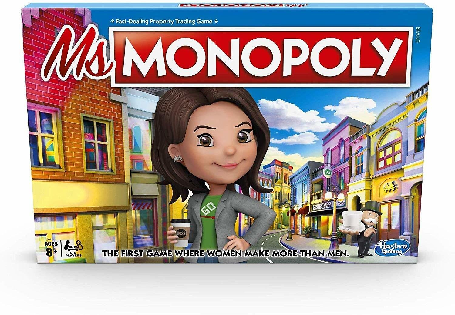 Ms.Monopoly Board Game