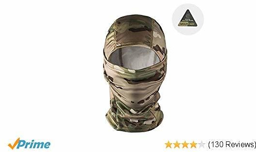 2020 Prime Day Coupon   Save 10% for OneTigris Tactical Hood Headwear Balaclavas Full Face Mask (Multicam)