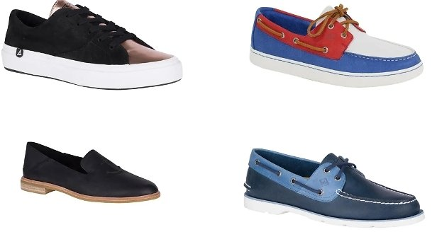 Buy One Get TWO FREE Sperry Shoes!