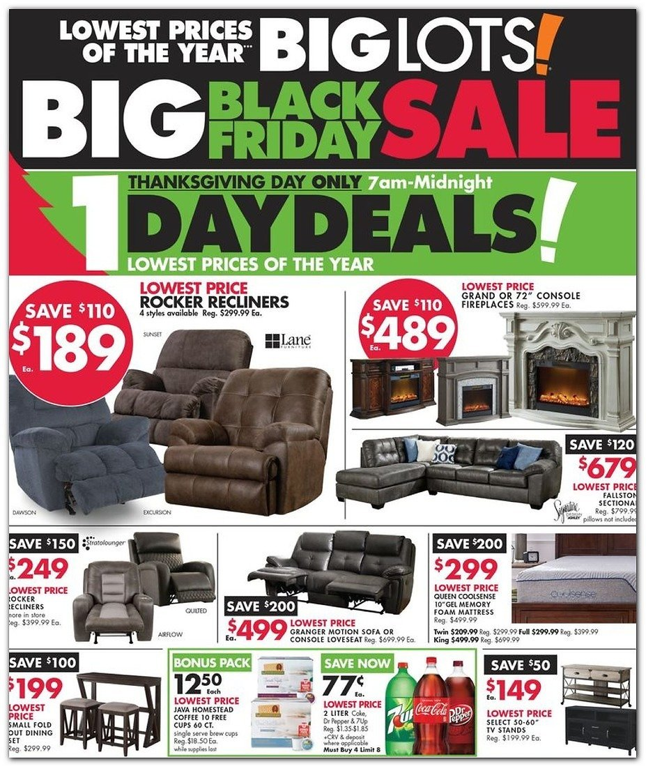Big Lots Black Friday 2019 Ad + More Ads!