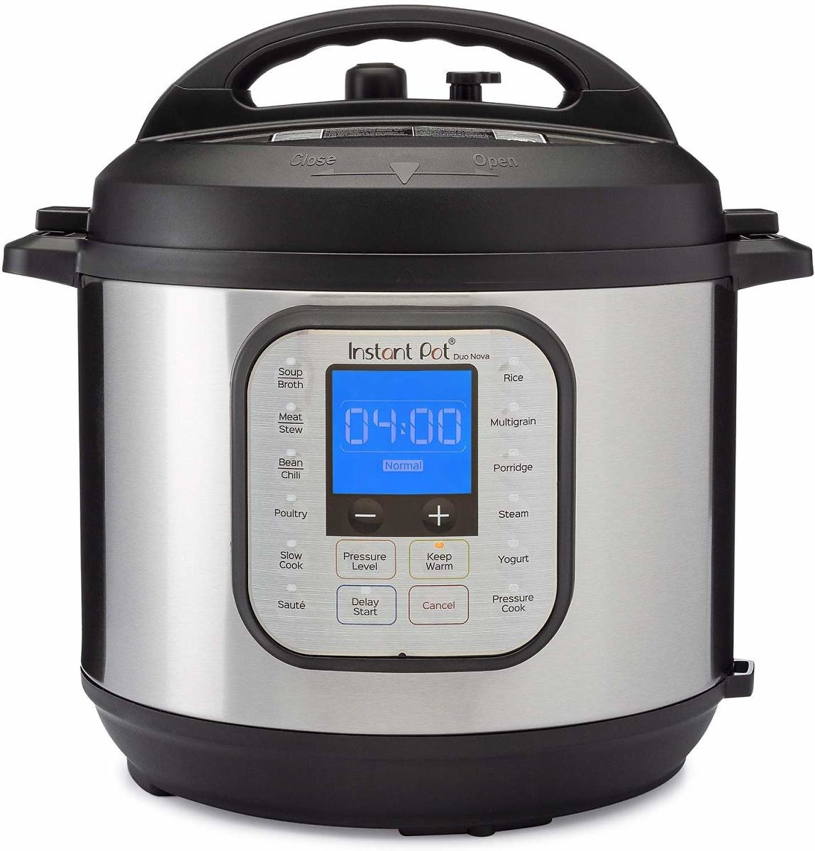 Instant Pot Duo Nova Pressure Cooker 7 in 1, 6 Qt + F/S