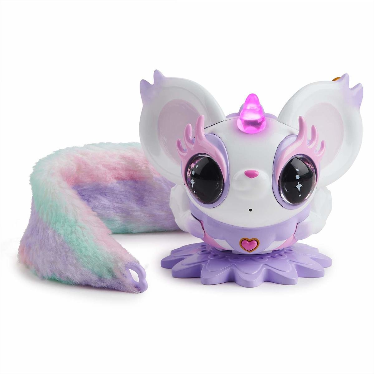 WowWee Pixie Belles - Esme (White) - Interactive Enchanted Animal Toy