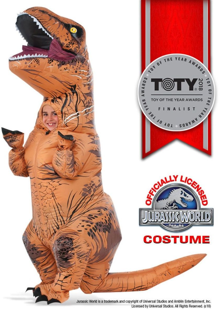 Kids Inflatable T-Rex Costume with Sound