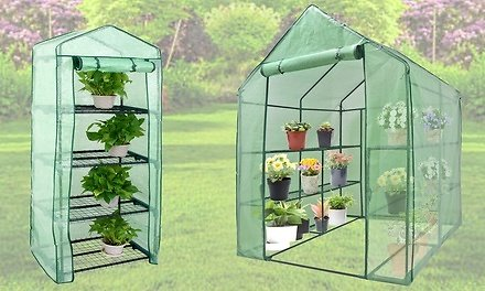 Outdoor Portable Gardening Mini Greenhouse with Waterproof Cover