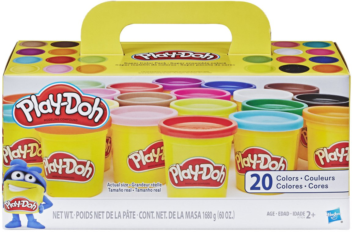20-Pack Play-Doh Super Color (20 Colors!)
