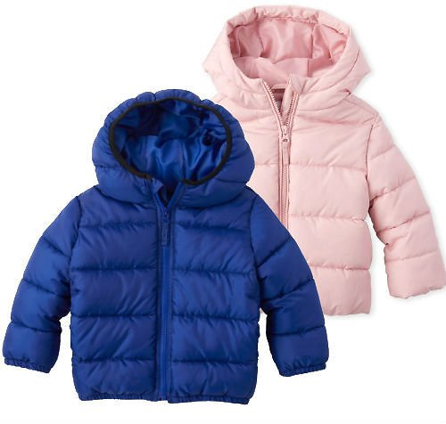 The Children's Place Kid's Puffer Jackets (Ships Free)