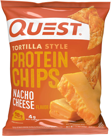 12-Pack Quest Nutrition Tortilla Style Protein Chips 1.1oz