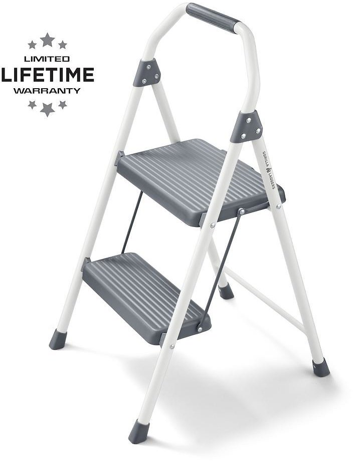Gorilla Ladders 2-Step Compact Steel Step Stool